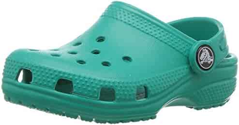 Crocs Unisex-Baby Classic Clog K Shoe, Tropical Teal, 8 M US Toddler