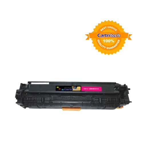 Cartritech reManufactured Canon 118 Magenta 2660B001AA / HP CC533A M High Yield 2,900 Pages Laser Toner Cartridge for Canon imageCLASS MF8350CDN / HP Color laser jet CP2025 CM2320n MFP CM2320nf MFP, Office Central