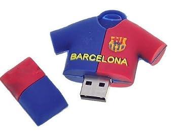 16GB Camiseta Fc Barcelona Barça Futbol Pendrive Pen Drive Memoria Usb-PD075(Envío de