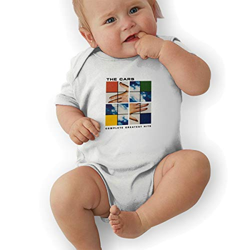 (Lovebbag Complete Greatest Hits Baby Jersey Jumpsuit Bodysuits White 0-3M)