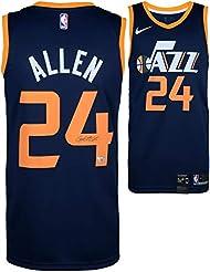 7f35c6e54a4 Grayson Allen Utah Jazz Autographed Nike Blue Swingman Jersey - Fanatics  Authentic Certified - Autographed NBA