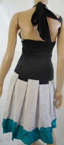 CoastDamen robe rayée bleu/beige)