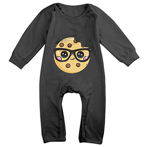 Efbj Baby Rompers Cookie Wear Cool Sunglass Coverall Romper Unisex Bodysuit Clothes Jumpsuit Pajamas