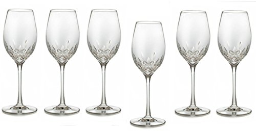 Essence Champagne Glass - Waterford Crystal Lismore Essence White Wine Deluxe Gift Box Set of 6