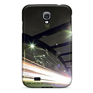 Hot Tpu Cover Case For Galaxy/ S4 Case Cover Skin - Dejctr_102_city Night Bridge_flow_1921x1281