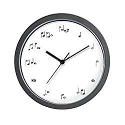 CafePress - Music Notes Musician Time - Unique Decorative 10 Wall Clock