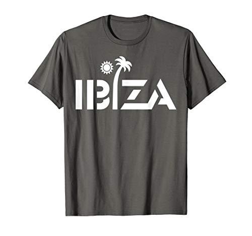 (Ibiza Espana Beach Palm Tree T-Shirt Party Destination Gift)