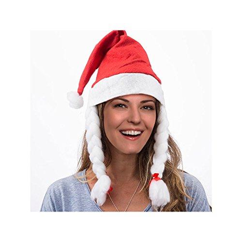 Immagini Di Mamma Natale.Cappello Natalizio Di Mamma Natale Amazon It Illuminazione