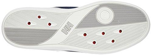 Helly Hansen HH 5.5 M Wi Wo, Mocassini Uomo Multicolore (690 Eve Bl / Alert Red / White)