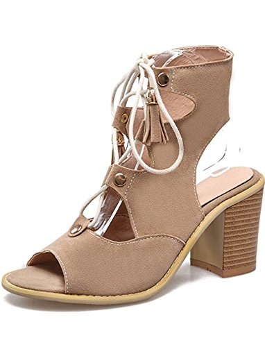 SYJO-Womens-Sexy-Cut-Out-Peep-Toe-Lace-Up-Ankle-High-Gladiator-Sandals-With-Heels