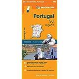 Portugal Sud - Algrave - Michelin Regional Map 593: Map (Michelin Regional Maps)