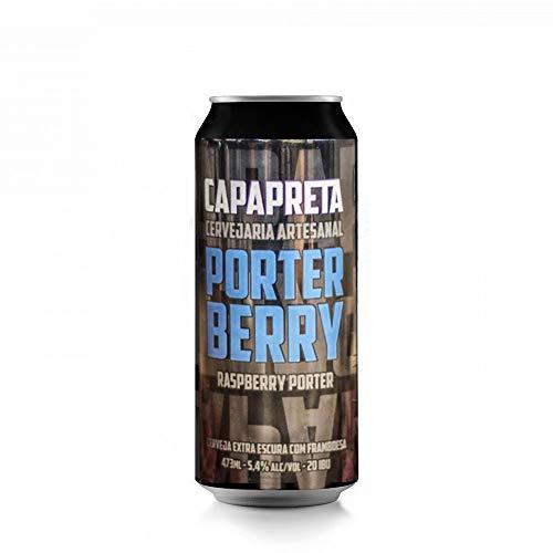 Cerveja Capa Preta Porter Berry Raspberry 473ml