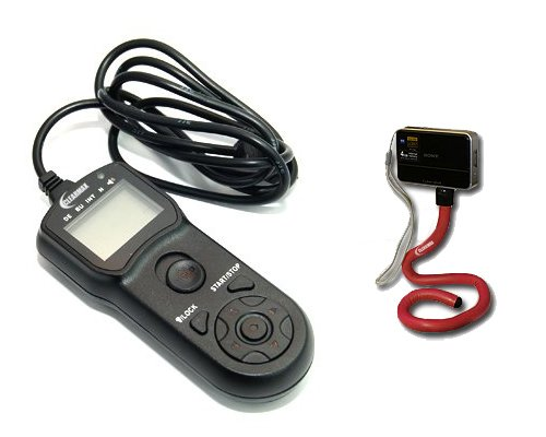 ClearMax Multi-Function Timer Remote Control Shutter for Olympus E1 E10 E20 E20N E100RS C2500L E3 E5 + Free Flexible Monopod