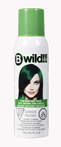 Bwild!!! Jaguar Green Temporary Hair Color Spray ()