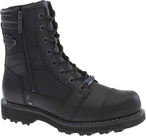 (Harley-davidson Men's Boxbury Work Boot, Black, 10 M US)