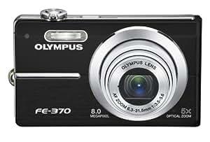 Olympus FE370 8MP Digital Camera with 5x Optical Dual Image Stabilized Zoom (Black)