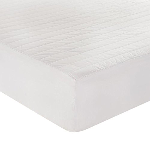 Just Cotton Cotton Filled Mattress Pad, King ()