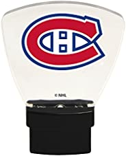 Authentic Street Signs 85314 NHL Montreal Canadiens LED Nightlight, Clear, One Size