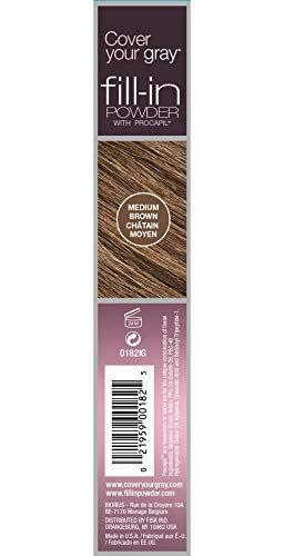 Cover Your Gray Fill in Powder - Medium Brown (Pack of 6) by Cover Your Gray (Image #1)