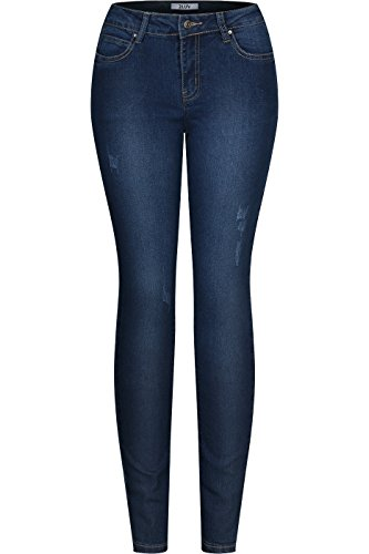 y 5 Pocket Blue Denim Skinny Jeans Blue Denim 0 (5 Pocket Denim Blue Jeans)