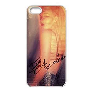 Cyber Monday Store Customize Rubber Iggy Azalea Back Cover Case for iPhone 5 5S
