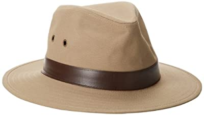 Henschel Outback Crushable, Canvas with Leather Band from Henschel Hats