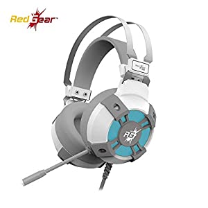 Best USB Gaming Headphones - RGB LED Effect [Special White Edition]