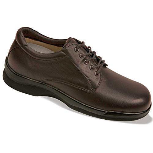 Aetrex Brown Oxford - Aetrex Men's Ambulator Conform Oxford Orthotic Shoes,Brown Smooth Leather,9 XW