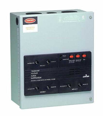 Leviton 52120-M3 120/208 Volt, 3-Phase Wye, Surge Panel
