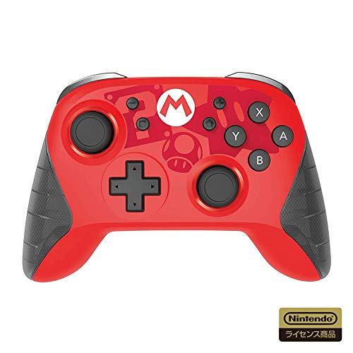 [Nintendo licensed products] Wireless Hori pad for Nintendo Switch (Super Mario) [Nintendo Switch corresponding]