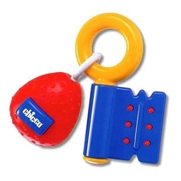Amazon.com   Chicco- 17 Cm Rainbow Key East Grasp Teething Toy   Baby Teether  Toys   Baby b0b29e7c3