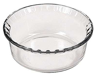 "Marinex Bakeware Large Glass Souffle Dish, 8-1/2"" x 3-7/8"""