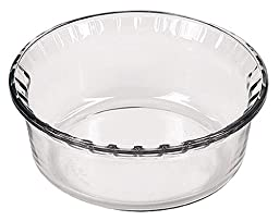 Marinex Bakeware Large Glass Souffle Dish, 8-1/2\