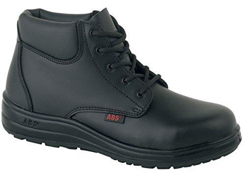 Coque Pour Acier De Homme L'eau Cuir À Chaussures Résistant 130p Noir Sécurité Avec Abs En Ox0q07