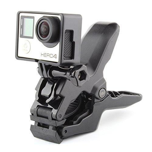ECYC Portable Jaws Flex Clamp Tripod Mount For Gopro Hero 5 4 Session 3 SJCAM SJ4000 SJ5000 SJ6000 Xiaoyi Yi 4K Camera Access by ECYC