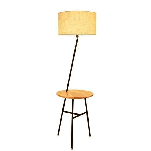 Lámpara de pie Mesa de Centro Creativa Lámpara de pie Sala de ...