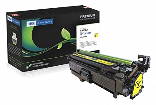 MSE Model MSE022135214 Yellow Toner Cartridge for HP CE252A (HP 504A), 7000 Pages Yield At 5 Percent Coverage ()
