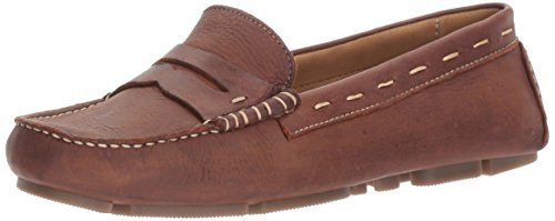 G.H. Bass & Co. Women's Patricia Driving Style Loafer, Brown 235, 7 M ()