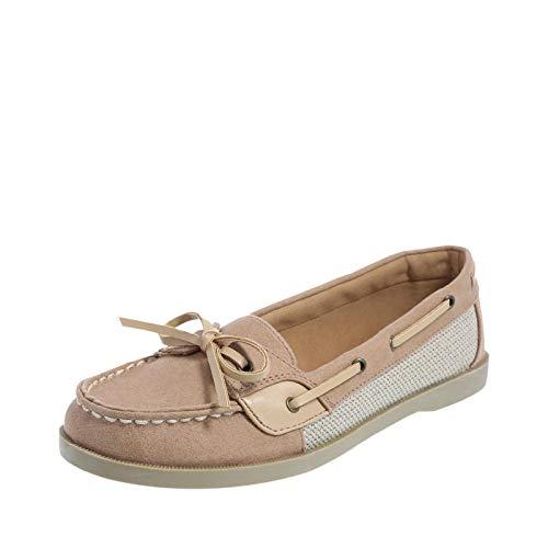 Lower East Side Tan Women's Beck Boat Shoes 12 Regular ()