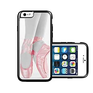 RCGrafix Brand Pink Ballet Pointe Shoes iPhone 6 Case - Fits NEW Apple iPhone 6