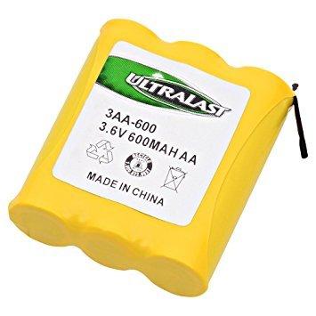 Ultralast - 3-1/2AAD-B 3.6 Volts Nickel Cadmium (NICD) Battery