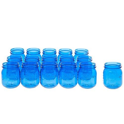 Aladdin Classic Mason Cup Pack 16oz (16Count) - Blue -