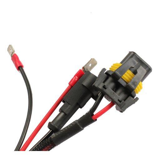 1 Paire H7 HID Xenon Ampoule Support Fixations Adaptateur Noir Ampoule Adaptateur TOOGOO R