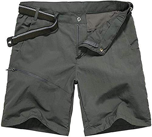 Toomett Men's Outdoor Lightweight Hiking Shorts Quick Dry Shorts Sports Casual Shorts,6044,Dark Grey, US 32 by Toomett