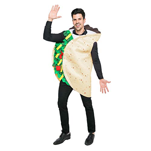 Spooktacular Creations Taco Costume Adult (Standard) -