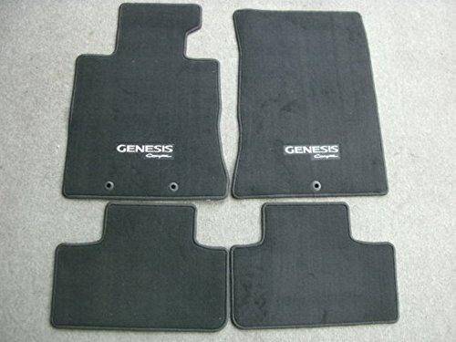HYUNDAI 2M014-ADU00-9PGenuine Accessories Custom Fit Carpeted Floor Mat - (Black)