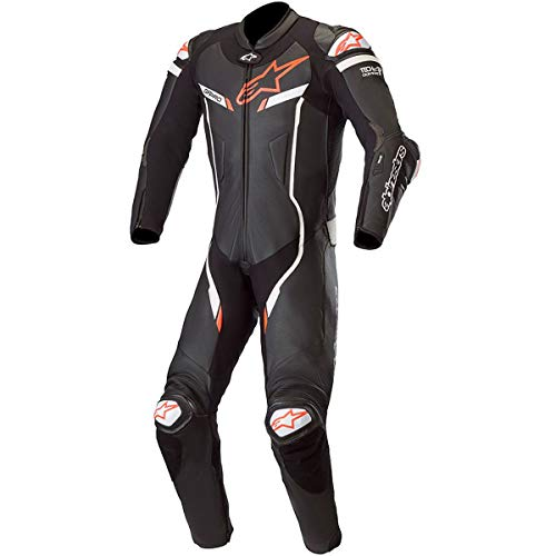 - Alpinestars GP PRO V3 Suit 1pc (Tech Air Compatible) (46, 12-BLACK WHITE)