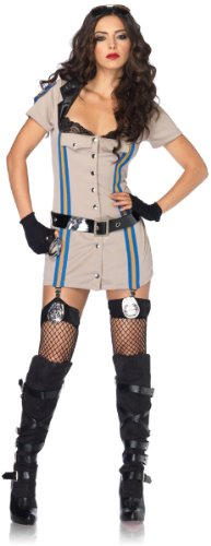 Highway Patrol Honey Women's Costume Large - Highway Patrol Honey Costume