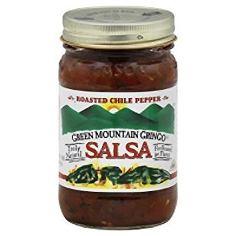 Roasted Chile Pepper Salsa 16 Ounces (Case of 6) ()