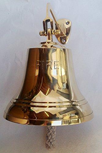 (RedSkyTrader BR 1844 Brass Bell, 6
